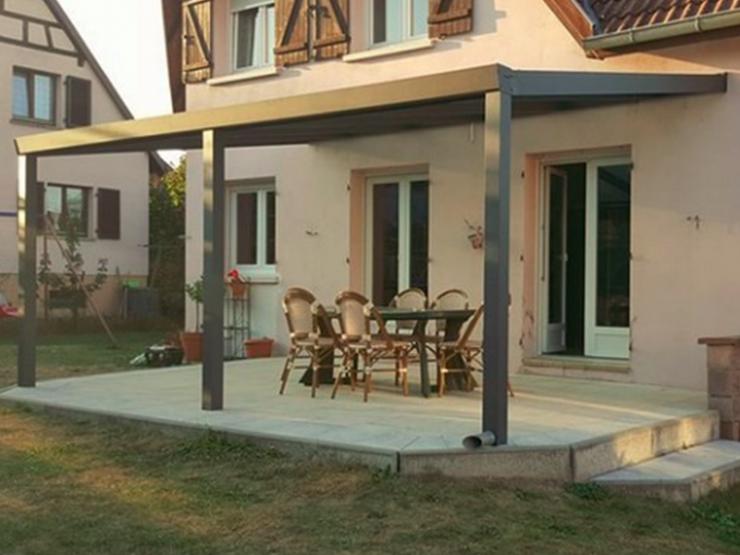 auvent maison terrasse