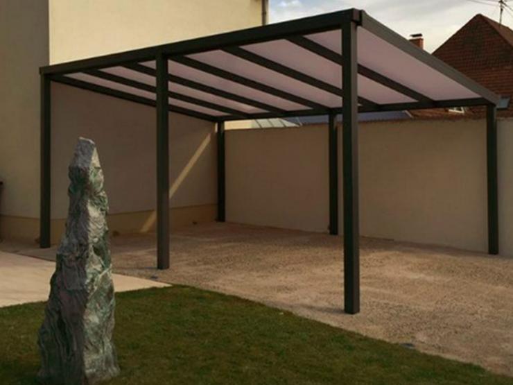 carport alu toit pente