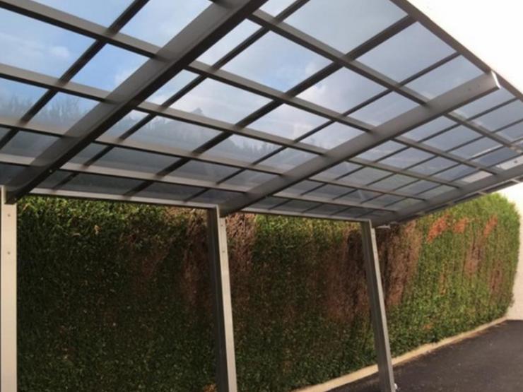 carport alu toit vitre