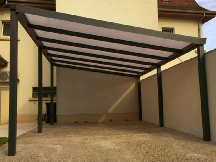 carport toit pente