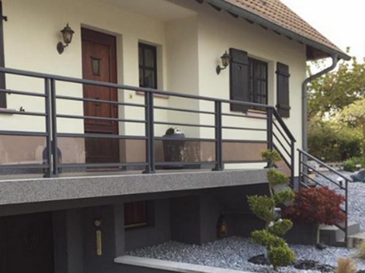 Garde corps aluminium pour balcon