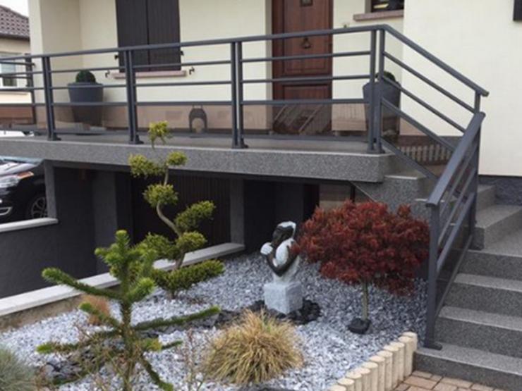 Garde corps alu pour balcon