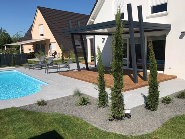 pergola bioclimatique alu design terrasse