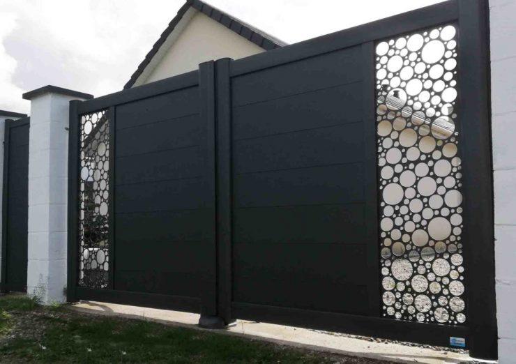 portail attraktiv motif bulles