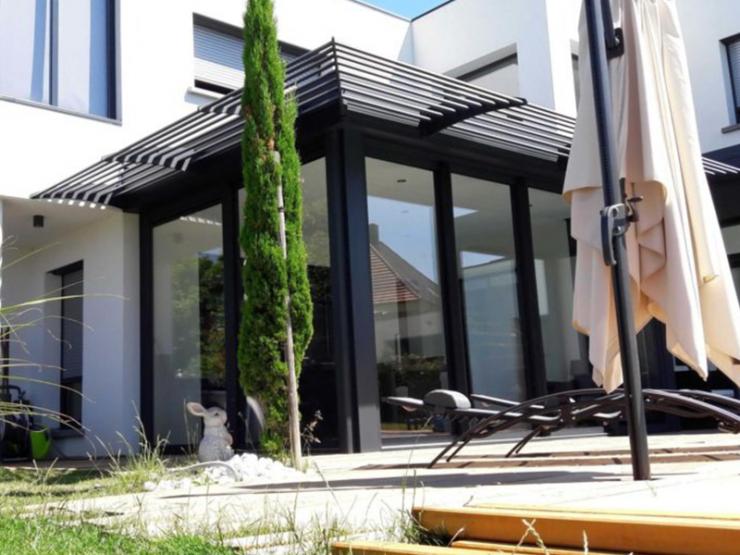 Véranda alu toit design